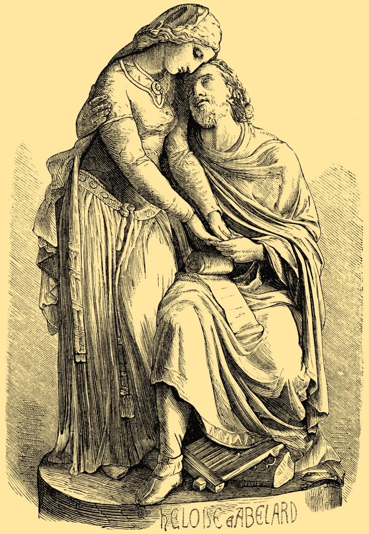Héloïse d'Argenteuil with Peter Abélard,